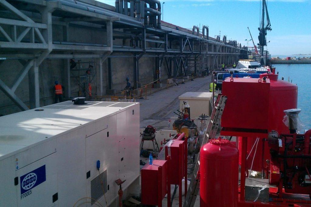 Refinería BP Catsellón generador FG Wilson - Agresa