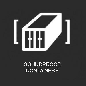 icon soundproof containers - products Agresa