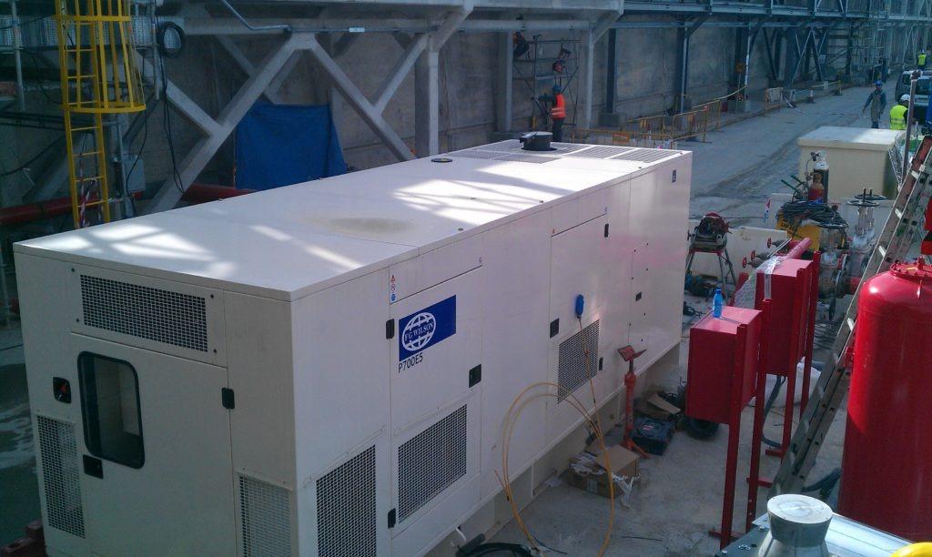 Generador eléctrico provisional_ Agresa