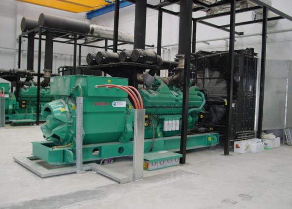 sistema de refrigeración grupo electrógeno