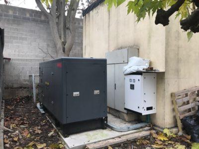 Installation Bell Puig Generator set