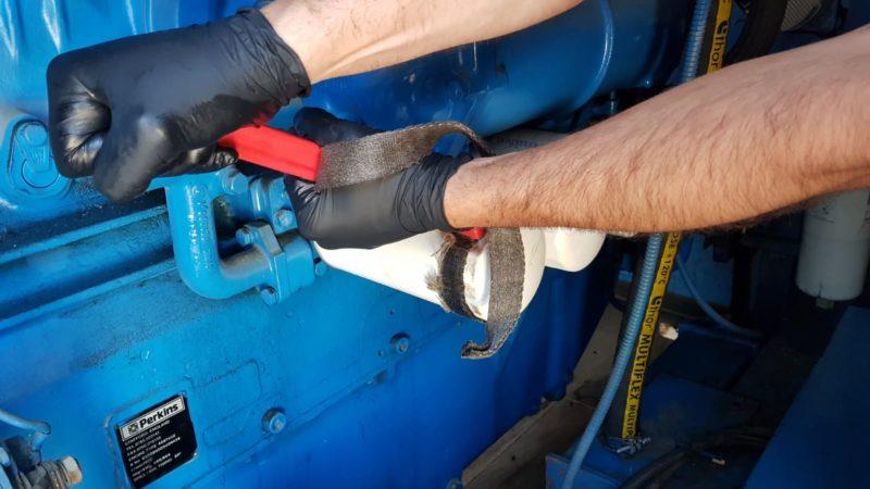 Preventive maintenance of electric generator