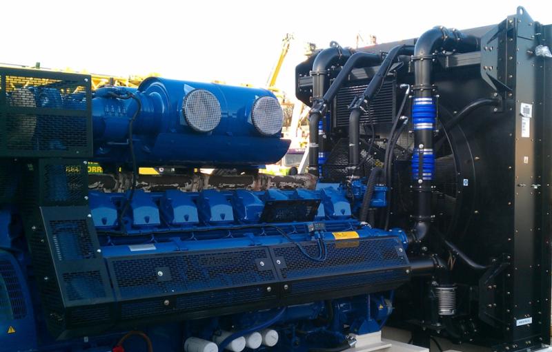 industrial diesel generator set barcelona