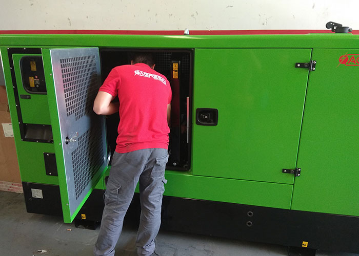 sale of generator sets, Agresa