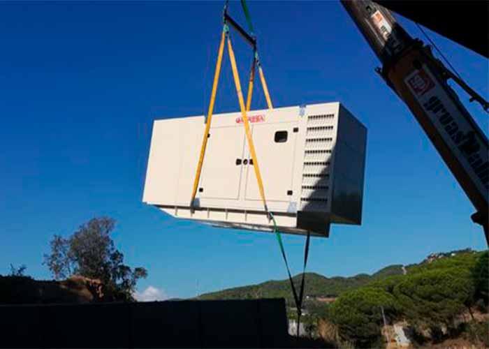 sale of generator sets, Agresa